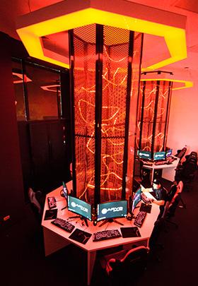 amenajare interioare sala gaming
