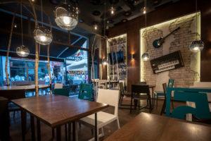 Bar Centrul Vechi (55Jazz) – Proiect de design interior